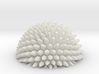 Ball bump hemisphere - fractals 3d printed