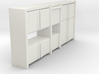 A 003 Sideboard living wall Schrank cupboard 1:87  3d printed