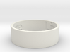 Live Laugh Love Ring, size 9 This is the beginning 3d printed