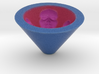 Face Bowl With Color 3d printed