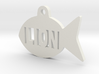 Gold Fish Pet ID Tag - Lion 3d printed