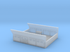 GE Gas Turbine Battery Box (Short) - (N Scale) 1:1 3d printed