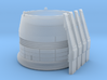 ENTERPRISE NX01 POLAR NACELLE CAP 3d printed