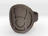 Red Lantern Ring 3d printed