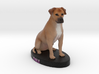 Custom Dog Figurine - Dale 3d printed