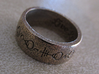 """Live Long & Prosper"" Ring - Engraved Style 3d printed Pictured: Stainless Steel"