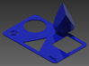 Tri-Shape Puzzle 3d printed Inventor rendering. The complete package.