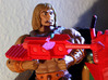 Castle Grayskull Prototype Turret Cannon Rifle 3d printed Painted Prototype printed in White Strong & Flexible Polished