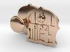 FC Barcelona Cufflinks (precious metals) 3d printed