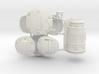 1:6 Sci-Fi ARMOR Plates SF version 3d printed
