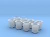 1/16 Short Weber Velocity Stacks 3d printed