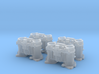 1/20 Weber Down Draft Carburetors 3d printed