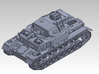 1/144 PzKpfw IV ausf.F 3d printed