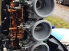 Velocity Stacks to suit Tohatsu 50hp Outboard 3d printed