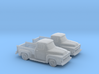 1/160 2X 1956 Ford F100 3d printed