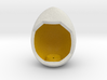 LuminOrb 2.4 - Egg Stand 3d printed Shapeways render of Egg Display Stand for GENEROSITY in Full Color Sandstone