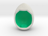 LuminOrb 1.5 - Egg Stand 3d printed Shapeways render of Egg Display Stand for KINDNESS in Full Color Sandstone