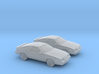 1/160 2X 1983 Chrysler Laser/Dodge Daytona 3d printed