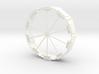 DIN Plaat 1op50 Cirkel 3d printed