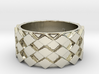 Futuristic Diamond Ring Size 8 3d printed