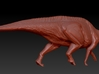 1/72 Parasaurolophus - Walking Alternate 3d printed zbrush render