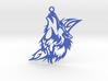 Wolf Pendant 3d printed