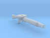 1/16 scale Lewis Machine Gun 3d printed
