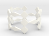 Triple H Ring Size 7.25 3d printed