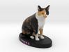 Custome Cat Figurine - Tessa 3d printed