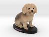 Custom Dog Figurine - Poppy 3d printed