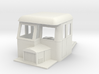 009 articulated railcar front part half cab 3d printed