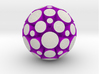 LuminOrb 1.6 - PASSION 3d printed Shapeways render of PASSION in Full Color Sandstone