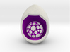LuminOrb 1.6 - PASSION 3d printed Shapeways render of PASSION on a matching color Egg Display Stand (optional)