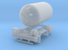 1/87th Propane Single Axle delivery Truck body 3d printed
