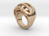 RING CRAZY 25 - ITALIAN SIZE 25  3d printed