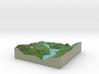Terrafab generated model Mon Jun 29 2015 09:52:06  3d printed