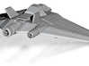 Stargate SG1 - Earths X302 [55mm Wingspan & Solid] 3d printed