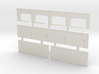 Strip Mall Walls 2 Z Scale 3d printed