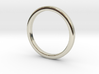 Ring for Cyndi size 7 (2mm wide, 2mm thick) 3d printed
