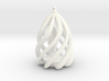 Swirl Ornament 3d printed