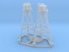 MK 26 Tripod mount x 4 1/48 3d printed