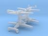 Lockheed Hudson x4 1:900 3d printed
